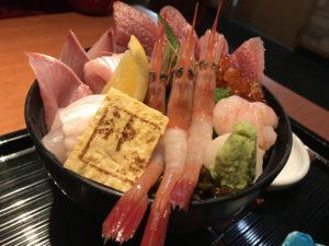 佐渡 レンタカー 海鮮丼 神楽